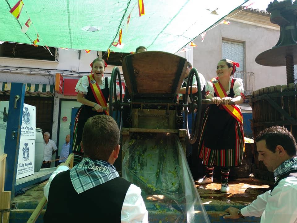 Fiesta de la Vendimia en Villarrubia de los Ojos