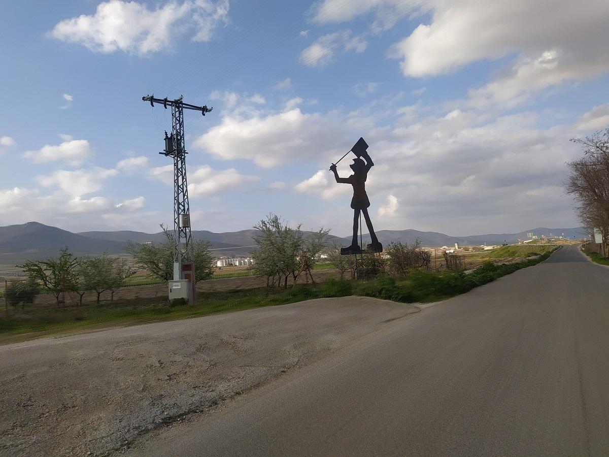 Estatua don quijote